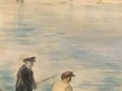 Horgászok a parton
