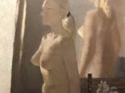 Akt a tükör előtt