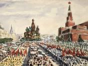 Szervánszky Jenő: Ünnep Moszkvában I-II.