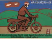 Motorkerékpárosok! - plakát