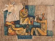 Három figura szürkében