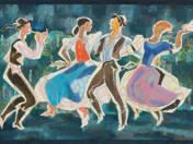 Táncolók (Tokodi mozaikterv) (1960)