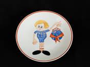 Zsolnay tányér CIMEA