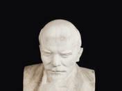 Gondolkodó Lenin büszt