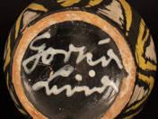 Gorka Lívia: Váza (sárga nyakas)