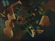 Zsiráflépcső zongoraívvel (1993)