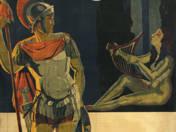 Orosz filmplakát - Spartacus (1920)