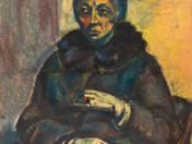 Női portré gyűrűvel