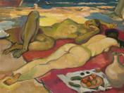 Két akt a tengerparton, csendélet (1961-65)