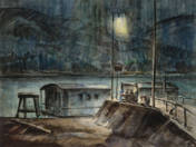 Éjszakai kikötő