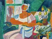 Nő hegedűvel