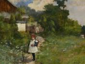 Kislány a faluvégen