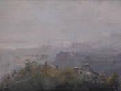 Budapest látképe háború után
