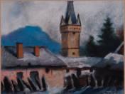 István torony Keresztheggyel