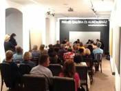 A Nádor Quartet adott koncertet Gál András kiállításmegnyitóján