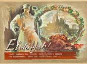 Légrády Sándor: Elvtársak! (akvarell, papír, 12,5 x 18,5 cm, j.n.) kikiáltási ár: 380.000 HUF